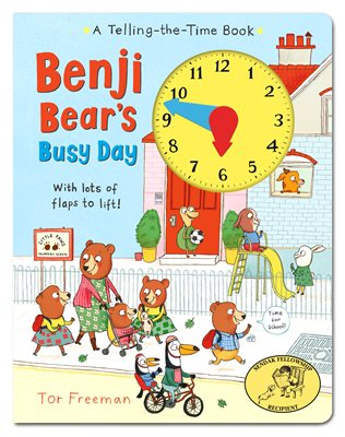 Book cover for Benji Bear's Busy Day